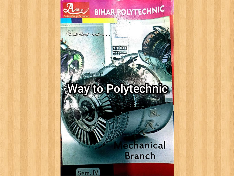 Download Mechanical 4th Sem Question Bank of Aditya Publication | SBTE