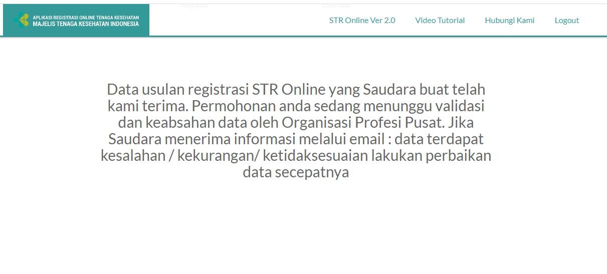 Cara Registrasi dan Perpanjangan STR Ahli Gizi