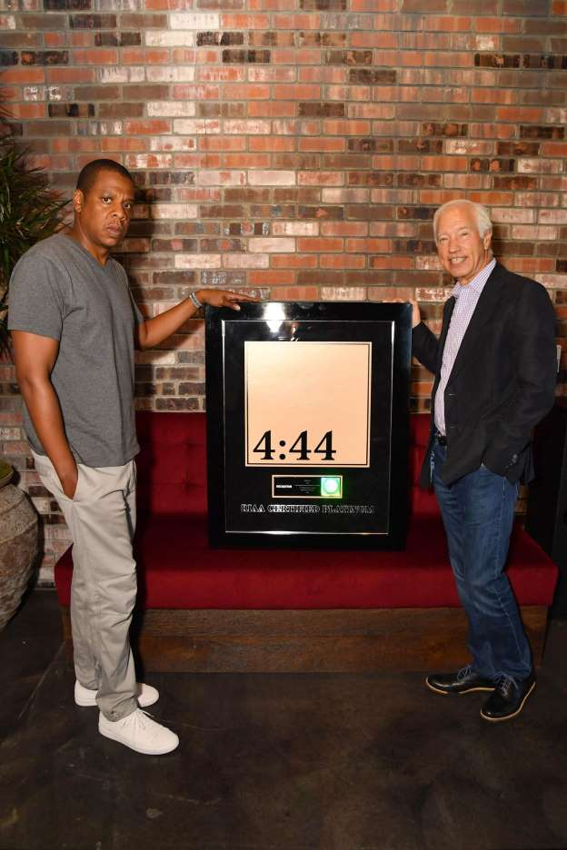 JAY-Z's '4:44' hits platinum in less than a week