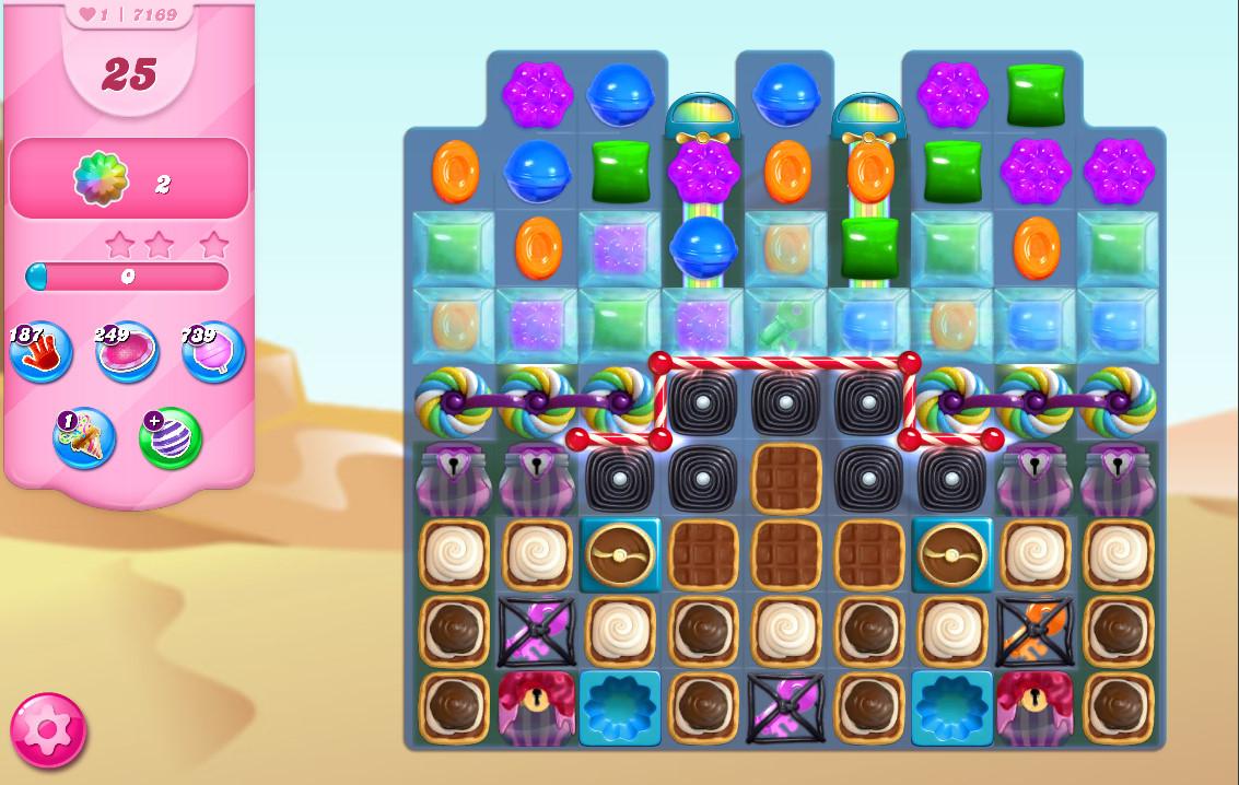 Candy Crush Saga level 7169