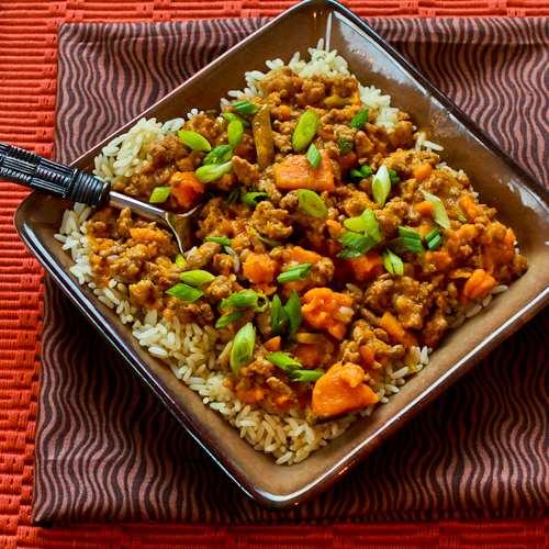 Kalyn's Kitchen®: CrockPot Sweet And Spicy Ground Turkey