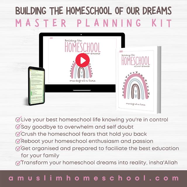 muslim homeschool planning
