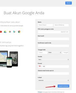 Cara Membuat Akun Google Dengan Cepat dan Mudah