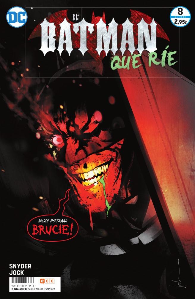 El Batman que ríe, de Scott Snyder y Jock