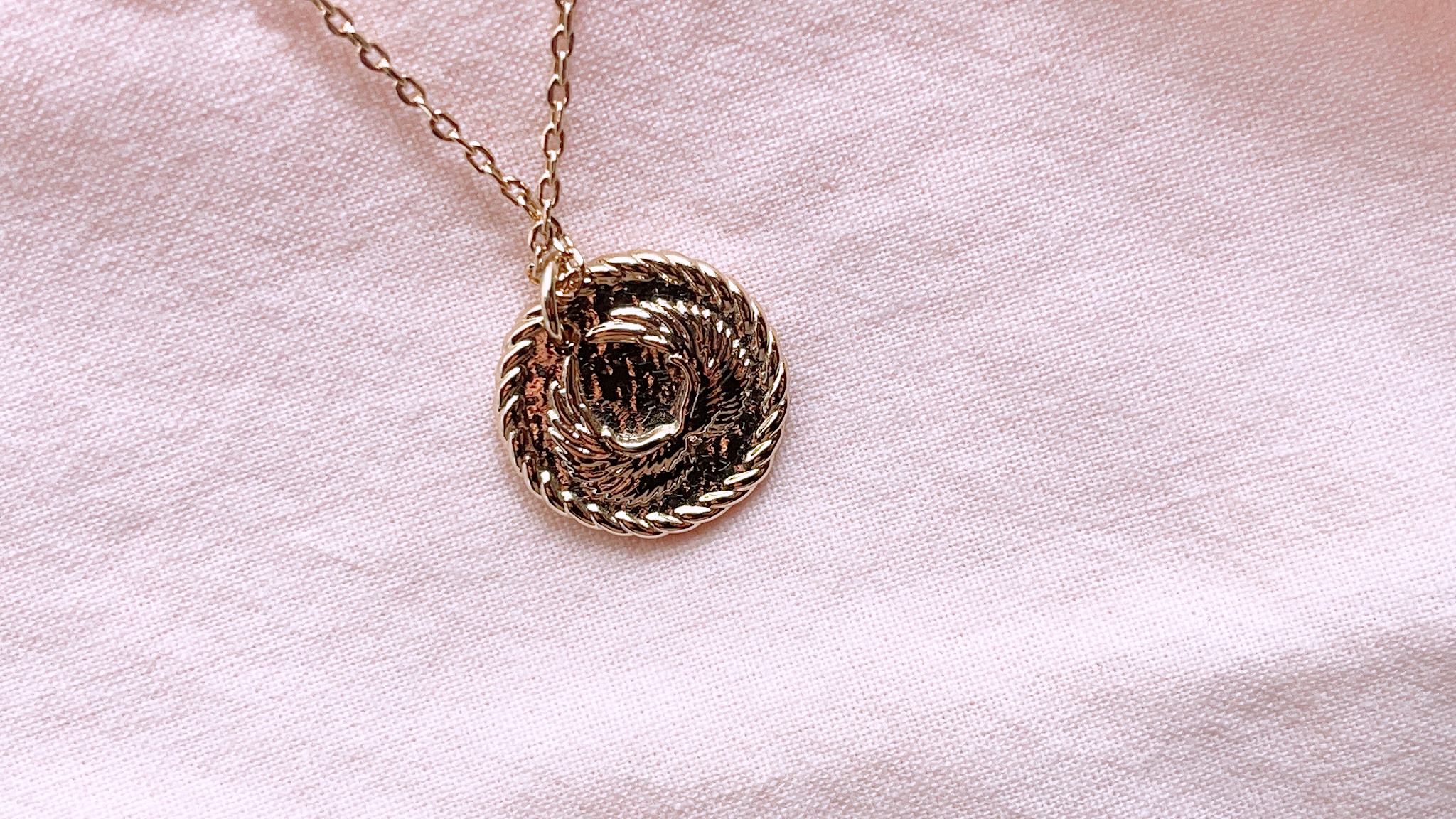 Ana Luisa: Kelly Necklace Review, Angel Gold Coin Necklace, Discount Code Included