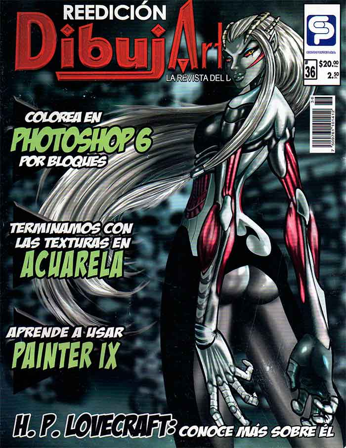 Descarga: DibujArte  #36 - Colorea en Photoshop.