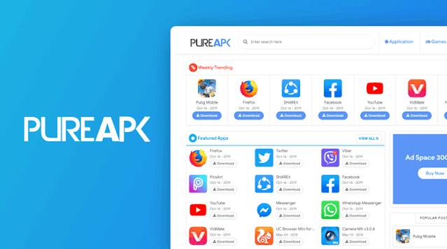 Pure APK Blogger Template Premium Free Download