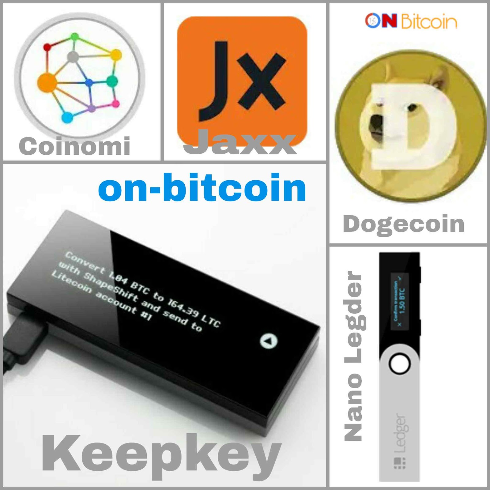 bitcoin litecoin dogecoin wallet)