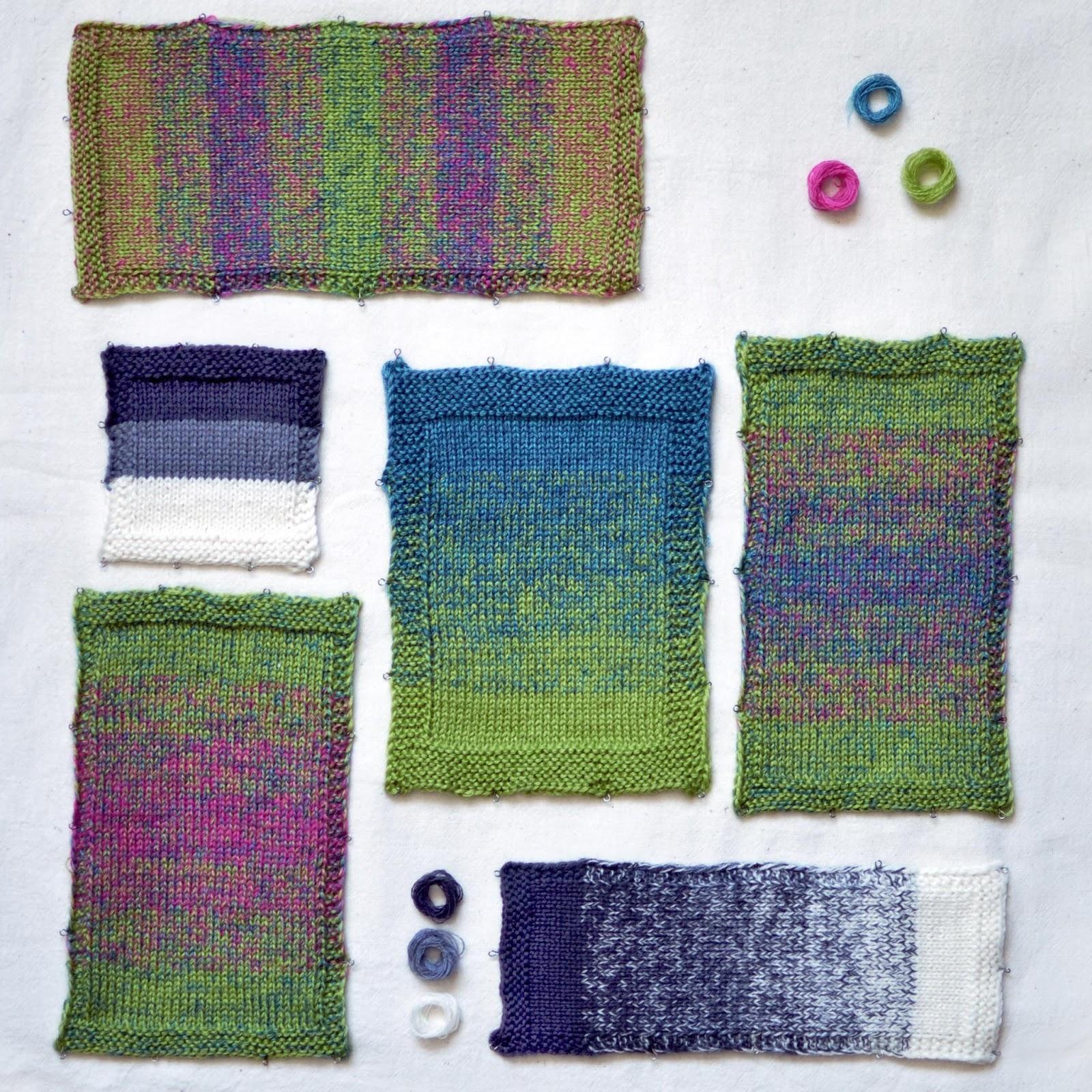 Tru Knitting работа с цветом деграде меланж