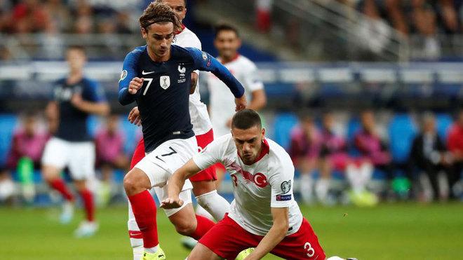 مشاهدة مباراة فرنسا وتركيا بث مباشر اليوم 14-10-2019 في تصفيات كاس الامم الاوروبية 2020