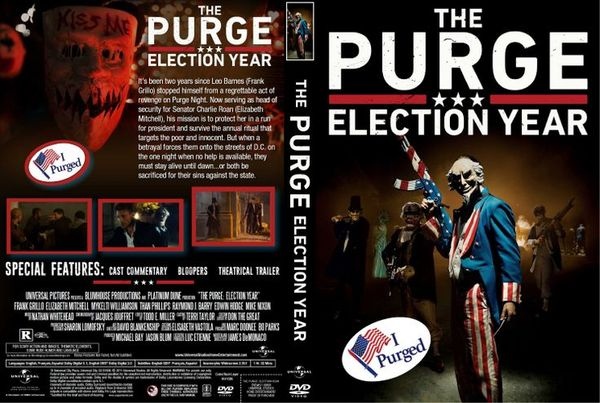 The Purge: Election Year – Latino, Inglés