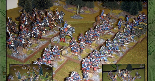 Field Of Battle another Napoleonic scenario 'Lutzen: The Prussian Charge'