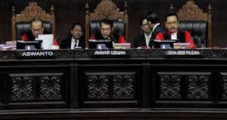 Hakim MK Sempat Sebut KPU selalu Ngeles