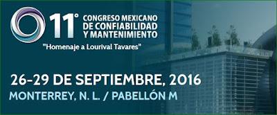 Congreso Mexicano de Confiabilidad y Mantenimiento 2016 MEXICO