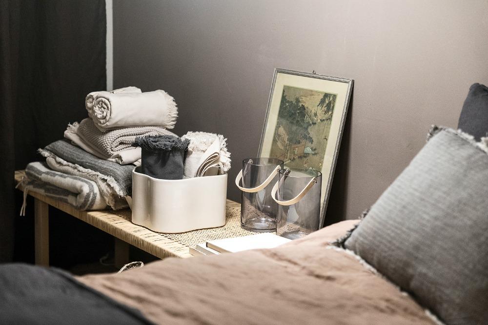 Anno, Annocollection, design, kotimainen, sisustus, sisustaminen, sisustusinspiraatio, Asun-lehti, Asun, Anno-home, Ulla Koskinen, sisustussuunnittelu, Visualaddict, valokuvaaja Frida Steiner, makuuhuone