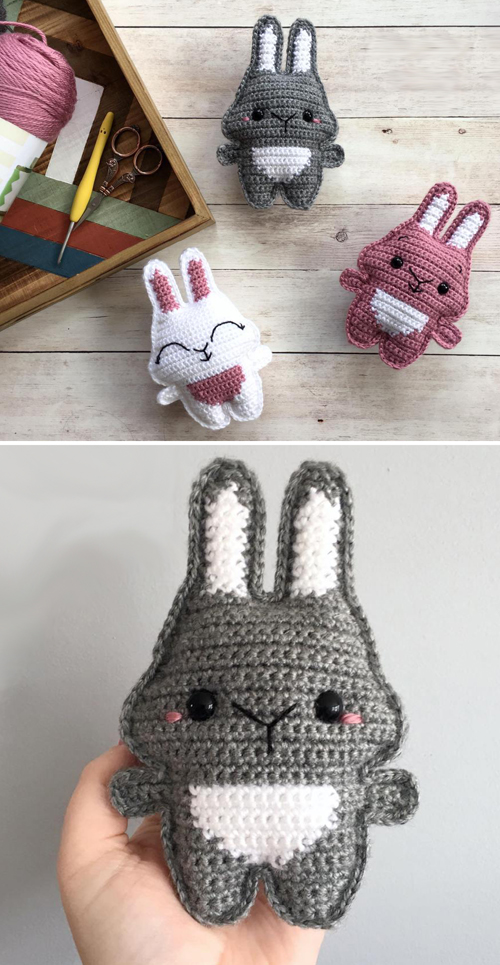 Pocket Bunny - Free Crochet Pattern