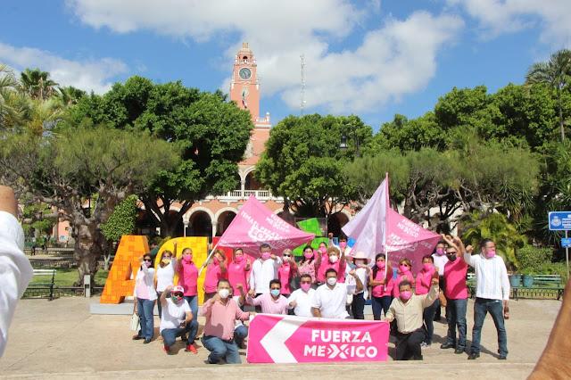 Soy un candidato del pueblo: Ismael Peraza al presentar a su planilla de regidores