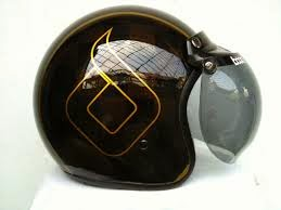 Daftar harga helm bogo kulit asli sni retro vespa model