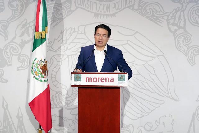 coordinador del Grupo Parlamentario de Morena, Mario Delgado Carrillo