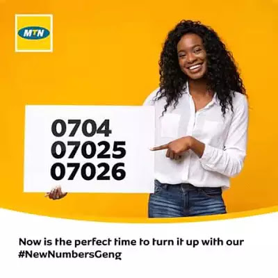 MTN Introduces New Numbers Prefix