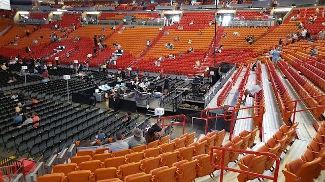 Estrutura da American Airlines Arena em Miami