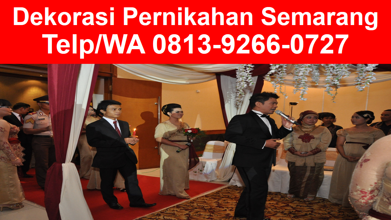wedding decoration semarang