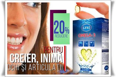 Omega 3 LYSI pareri catena farmacia tei