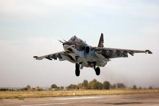 Jet Pembom Su-25 Rusia