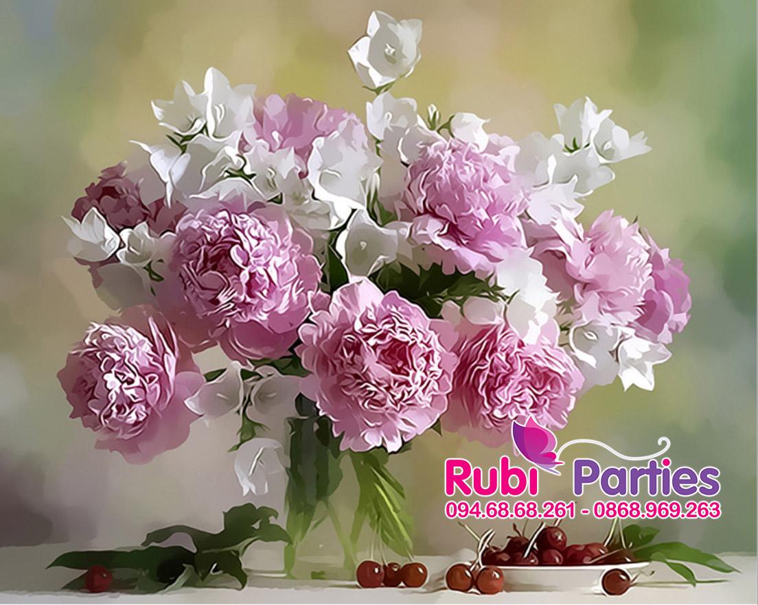 Tranh son dau so hoa o Minh Khai
