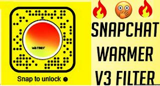 Warmer v3 filter || How to get a snapchat V3 warmer filter
