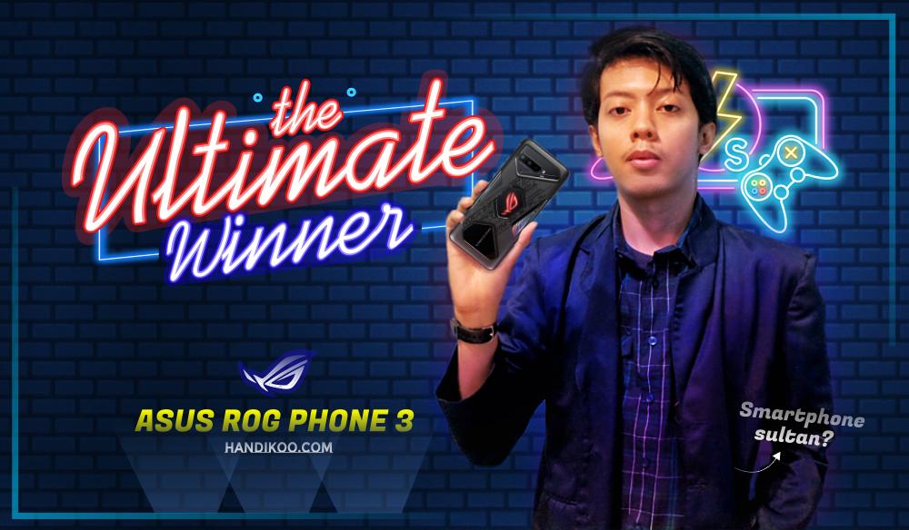Tentang Diko, Dunia Game dan Smartphone ASUS ROG Phone 3