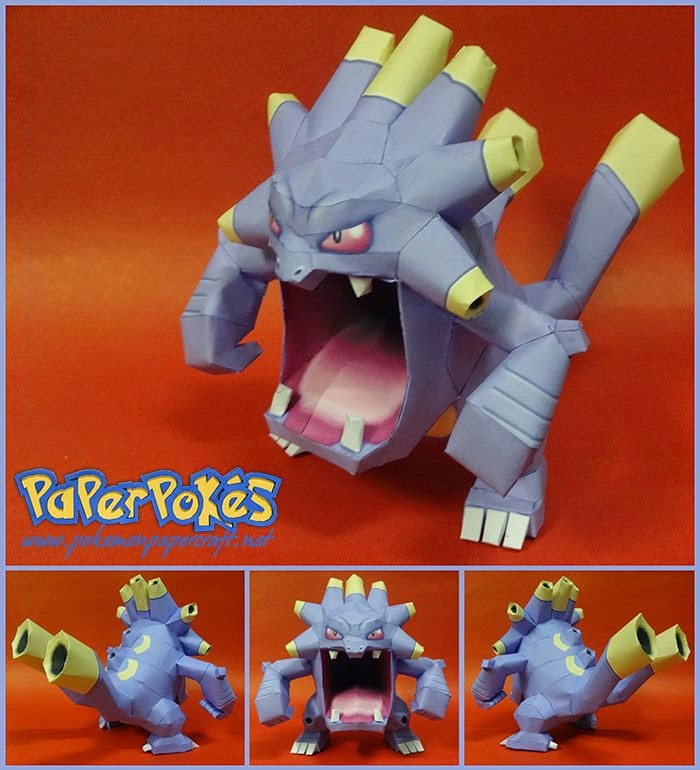 Pokemon Exploud Papercraft