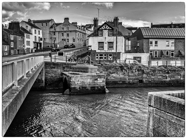 Photo of the bridge over the River Ellen at Maryport