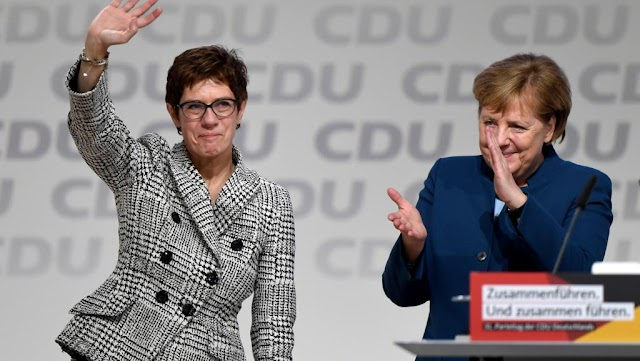 #Politics,#Germany : The era of Angela Merkel is over .Now it's time of AKK !