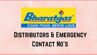 Bharat Gas Agencies in Bhadradri Kothagudem