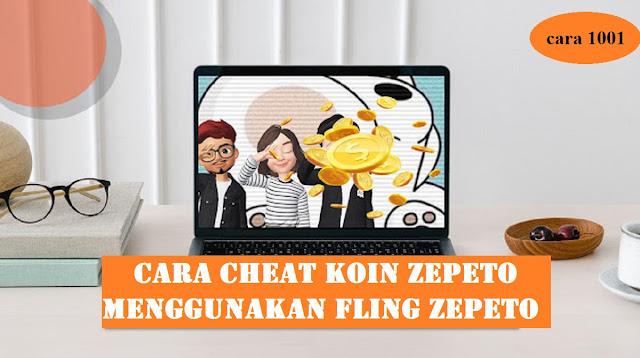 Cara Cheat Koin Zepeto