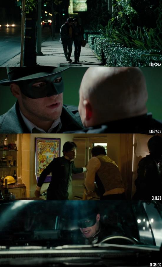 The Green Hornet 2011 BRRip 720p 480p Dual Audio Hindi English Full Movie Download