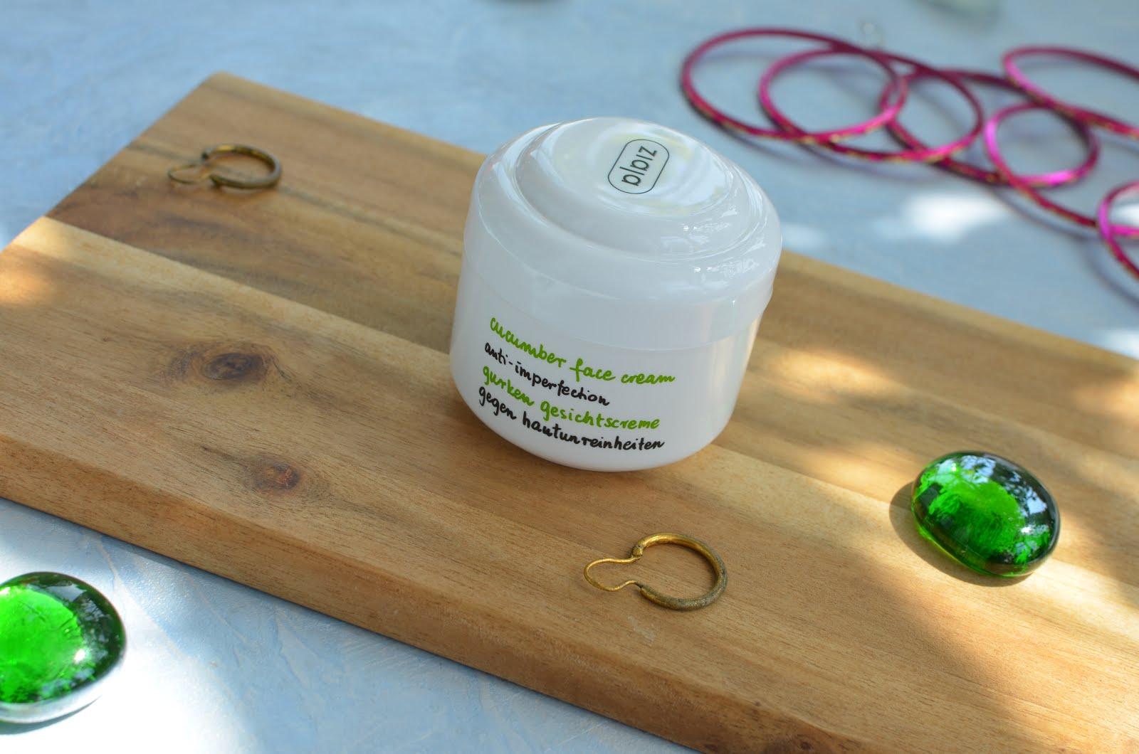 Ziaja Cucumber Face Cream Огуречный крем для лица для жирной\комби кожи