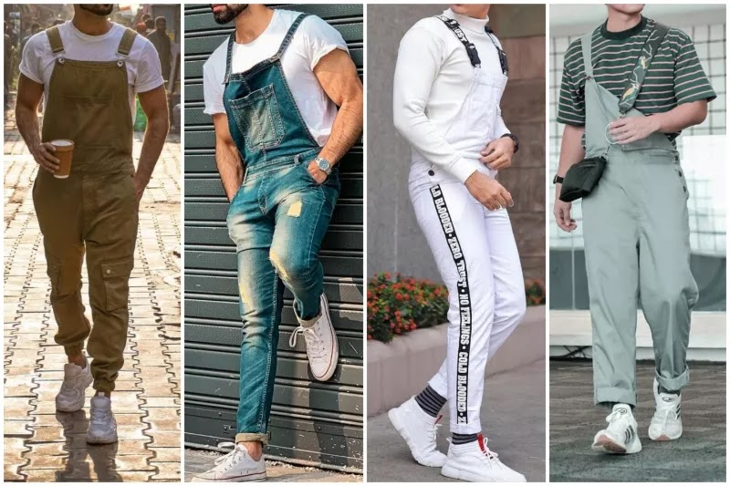 Men's dungarees/overalls Style.
