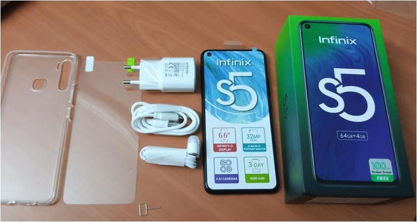 INFINIX S5 128GB (X652) Maroc.    Prix Maroc et caractéristiques technique. Infinix S5 6GB Ram