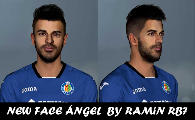 PES 2017 Angel Rodriguez Face By RAMIN RB7