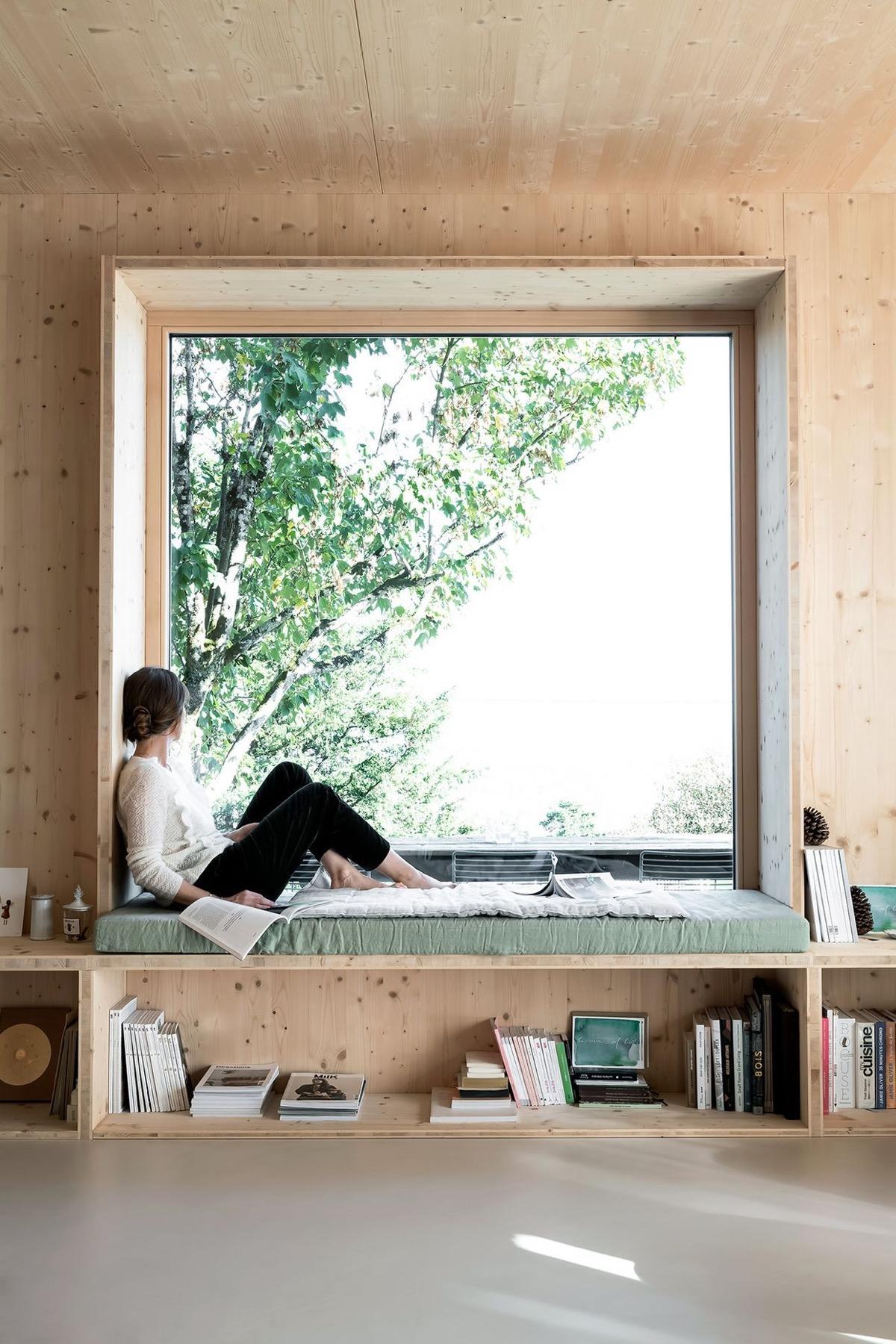 Un banco bajo la ventana ¡Ideas para vuestra casa!_27