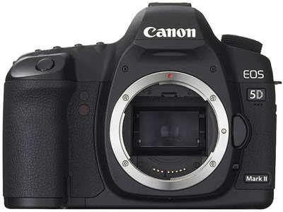 Canon EOS 5D Mark II DSLRダウンロードフルドライバー