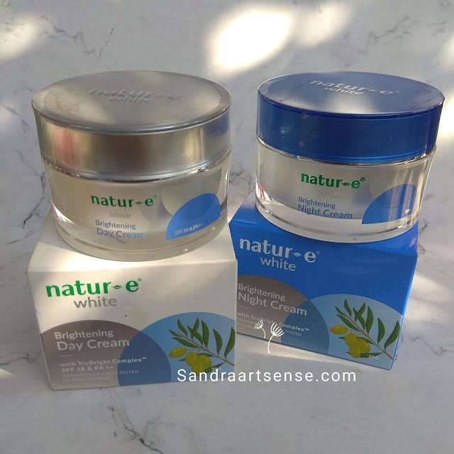 Review Natur-E White Brightening Day & Night Cream