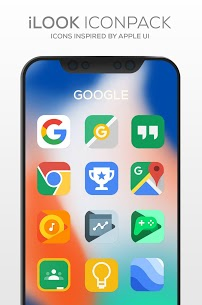 iLOOK Icon pack UX THEME v2.3 [Patched] APK