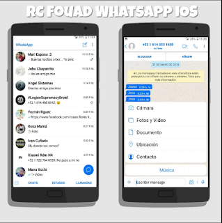 Free Download RC Fouad WhatsApp Mod Apk  iOS Latest Version 2018 Update