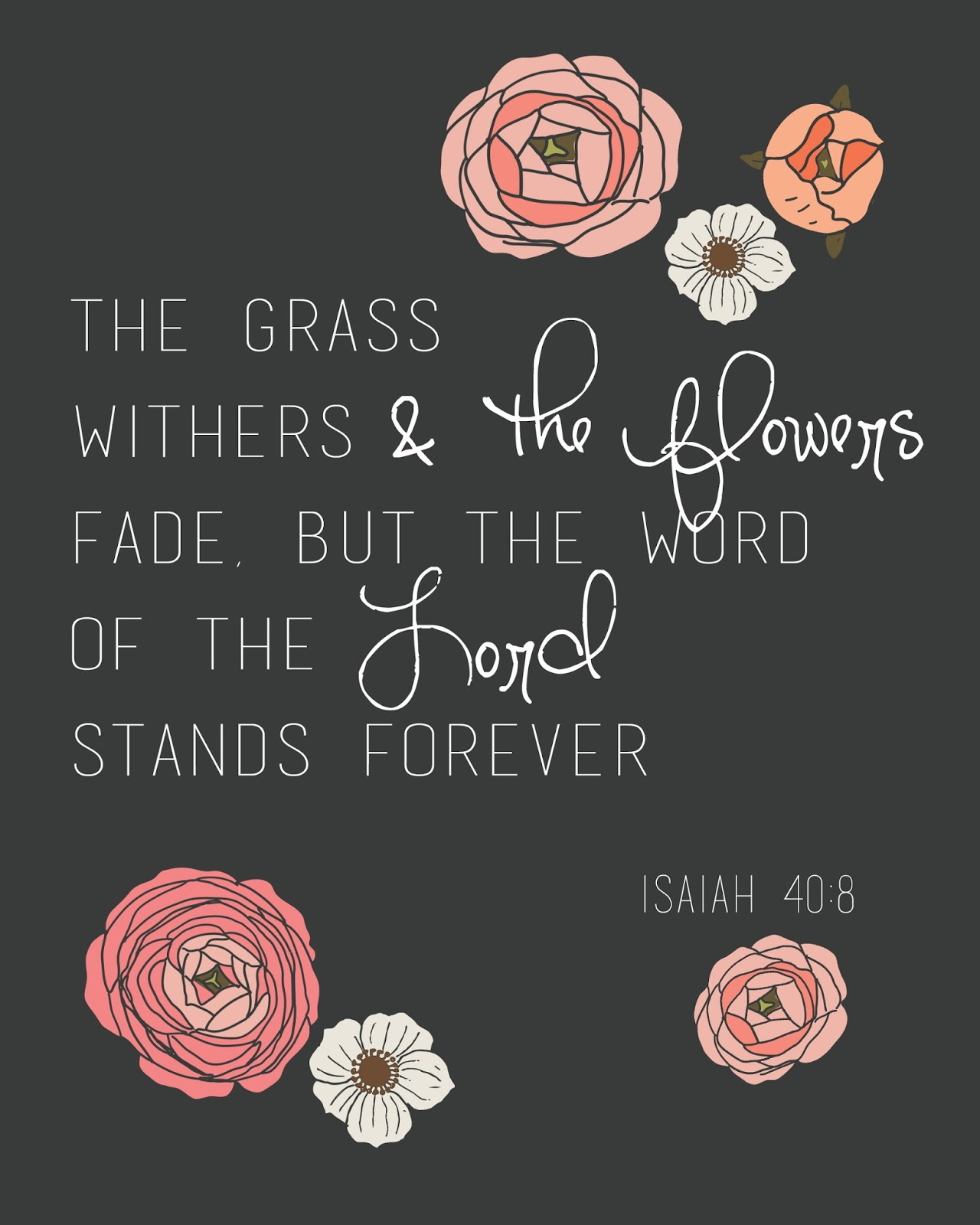 Bible Verse Quotes: Fresh Picked: Home Woes & Bible Verse {printables}
