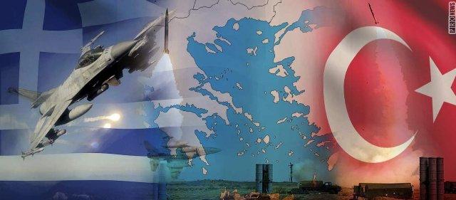 Γερμανόφωνα ΜΜΕ: «Πιθανή σύρραξη μεταξύ Ελλάδας-Τουρκίας το 2019 - Ασαφές που ανήκουν πολλά νησιά του Αιγαίου»!