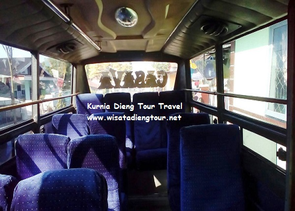 gambar interior dalam mikro bus dieng