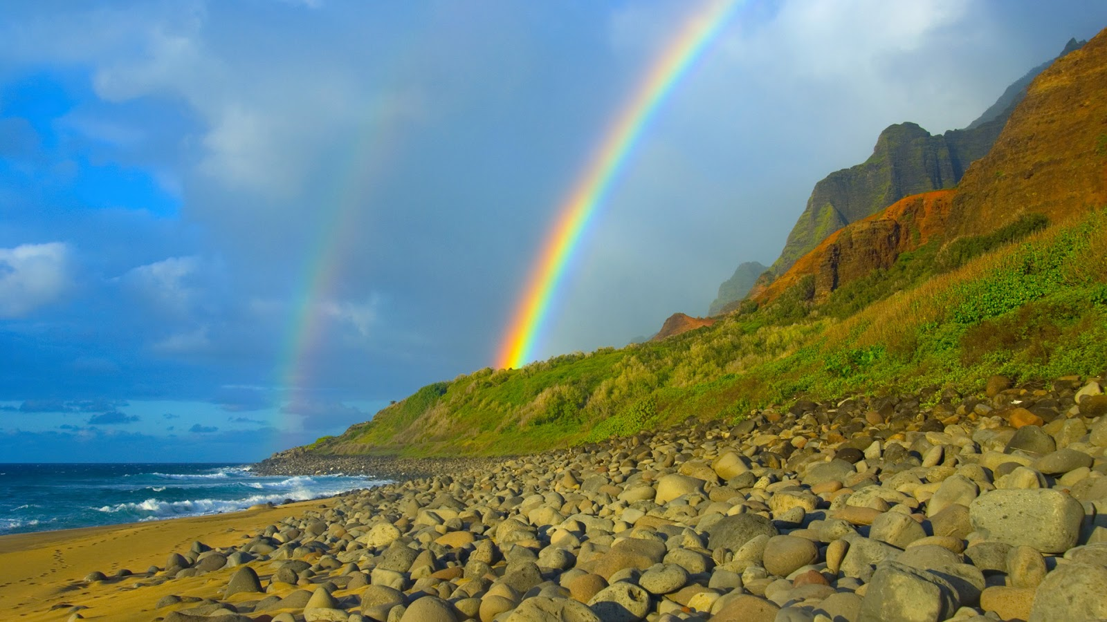 Free high definition wallpapers rainbows and lightnings - High definition colorful wallpapers ...